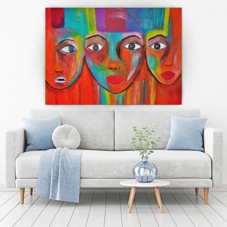 Tablou Canvas - Face1
