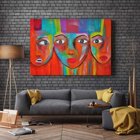 Tablou Canvas - Face2