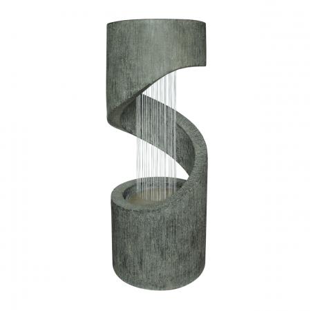 Fantana arteziana Style, decoratiune gradina, cu pompa recirculare apa, 31.5 x 79.5 cm