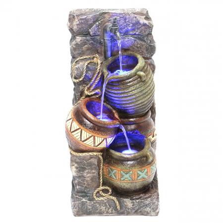 Fantana arteziana Ulcior cu lumina, decoratiune gradina, cu pompa recirculare apa [0]