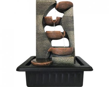 Fantana arteziana 5 scoici 31x23x40 cm [0]