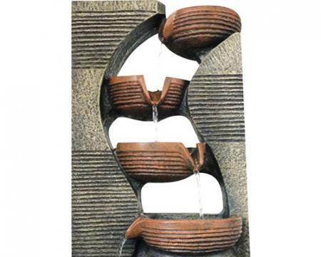 Fantana arteziana 5 scoici 31x23x40 cm [1]