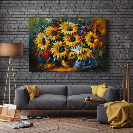 Tablou Canvas - Floarea-Soarelui [2]