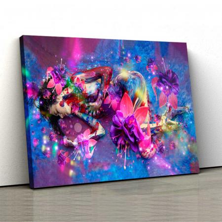 Tablou Canvas - Flower Girl [0]