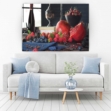 Tablou Canvas - Fructe pe masa1