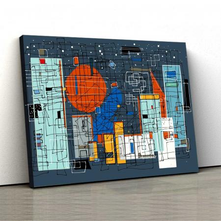 Tablou Canvas - Geometrie0