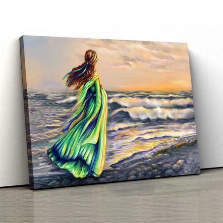 Tablou Canvas - Girl On The Beach [0]