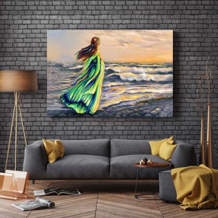 Tablou Canvas - Girl On The Beach [2]