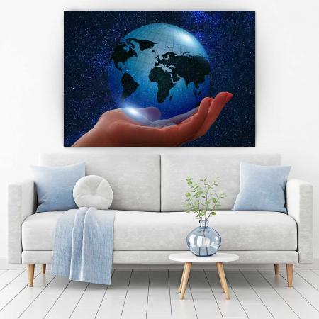 Tablou Canvas - Globul Pamantesc1