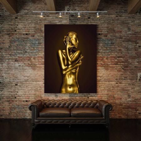 Tablou Canvas - Gold Nude 42