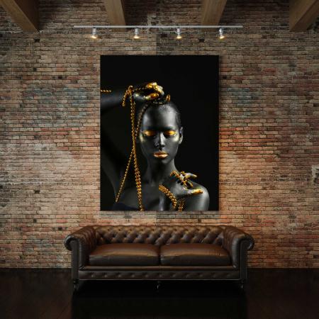Tablou Canvas - Gold Pearl [2]