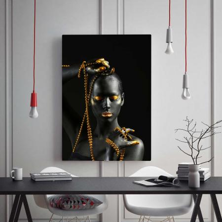 Tablou Canvas - Gold Pearl [1]