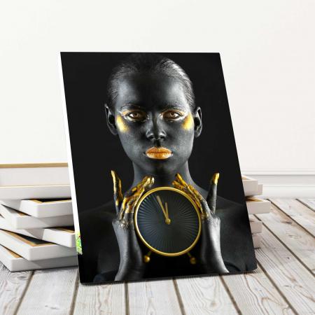 Tablou Canvas - Gold Watch0