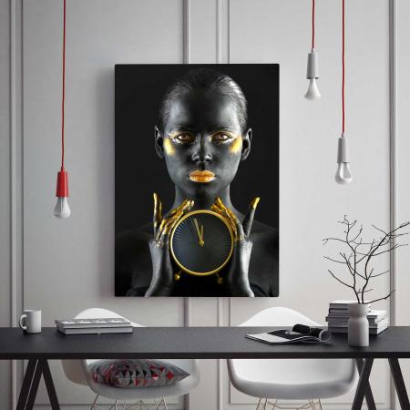 Tablou Canvas - Gold Watch1