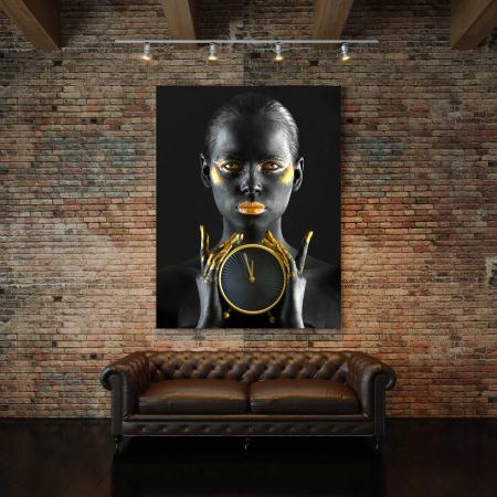 Tablou Canvas - Gold Watch2