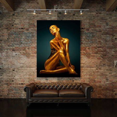 Tablou Canvas - Gold Woman2