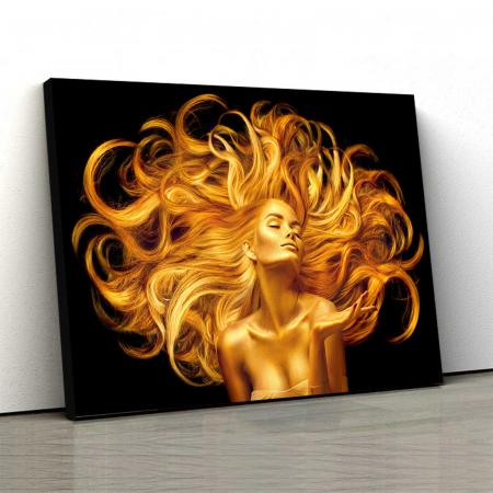 Tablou Canvas - Golden Girl [0]