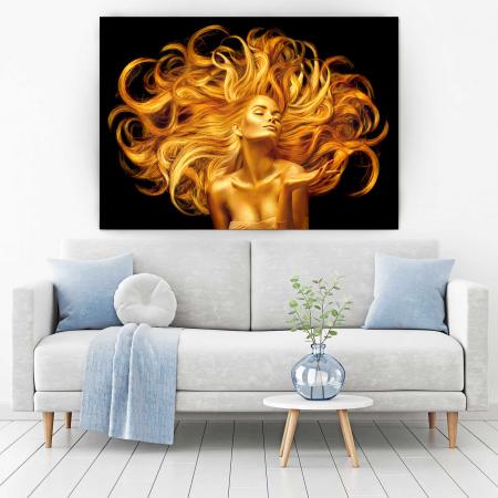 Tablou Canvas - Golden Girl [1]