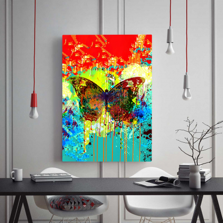 Tablou Canvas - Abstract Butterfly1