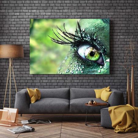 Tablou Canvas - Green Eyes [2]