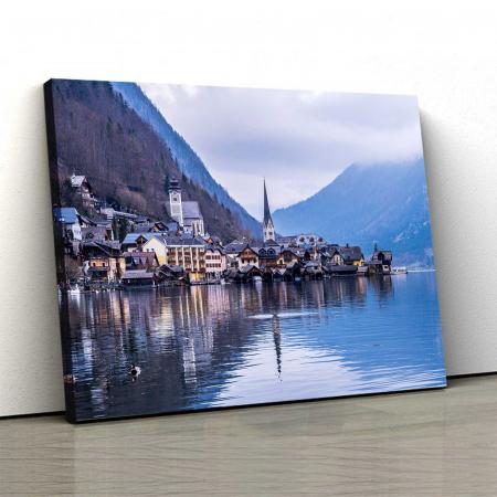Tablou Canvas - Hallstatt Austria0