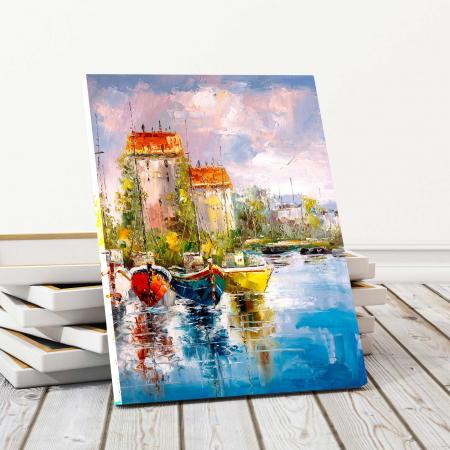 Tablou Canvas - Harbour View0