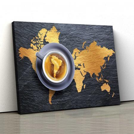 Tablou Canvas - Harta Lumii0