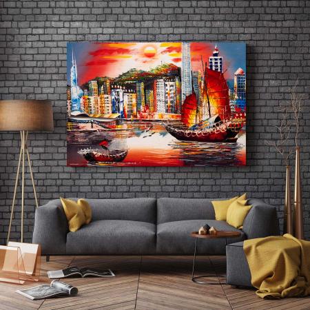 Tablou Canvas - Hong Kong [2]
