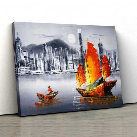 Tablou Canvas - Hong Kong 2 [0]
