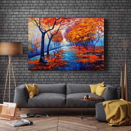Tablou Canvas - I Love Autumn2