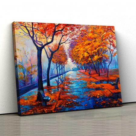 Tablou Canvas - I Love Autumn0