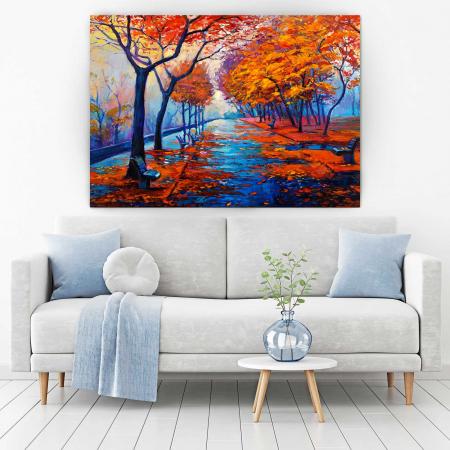 Tablou Canvas - I Love Autumn1