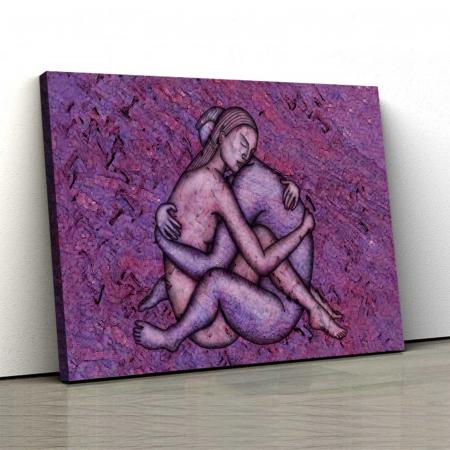Tablou Canvas - Ilustratie Nud0