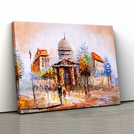 Tablou Canvas - lustratie Oras0