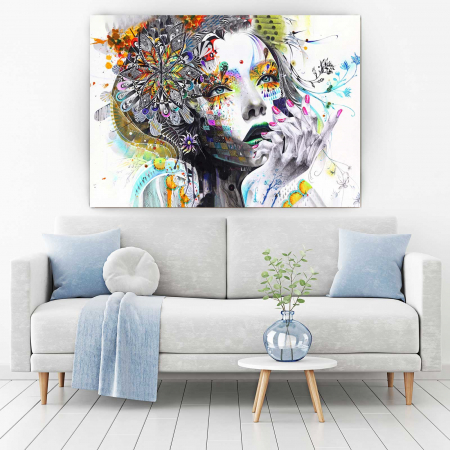 Tablou Canvas - Lady1