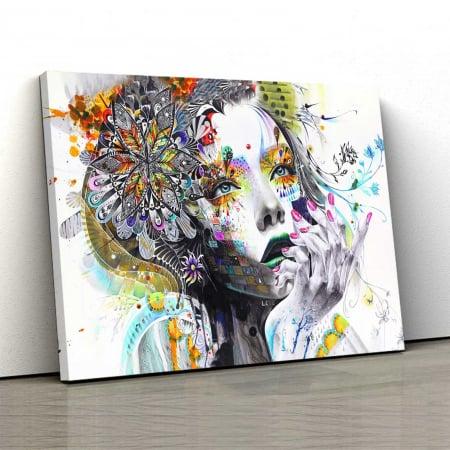 Tablou Canvas - Lady0