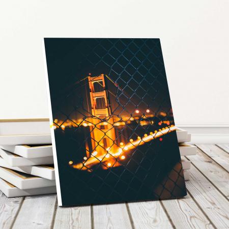 Tablou Canvas - Light Bridge0