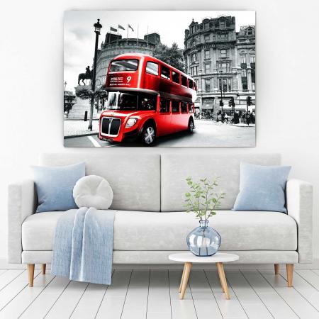 Tablou Canvas - London Bus [1]