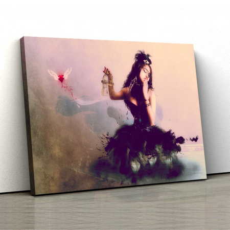 Tablou Canvas - Love Me0