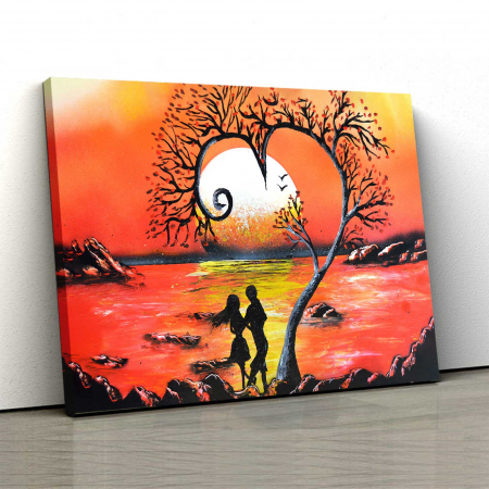 Tablou Canvas - Lovers [0]
