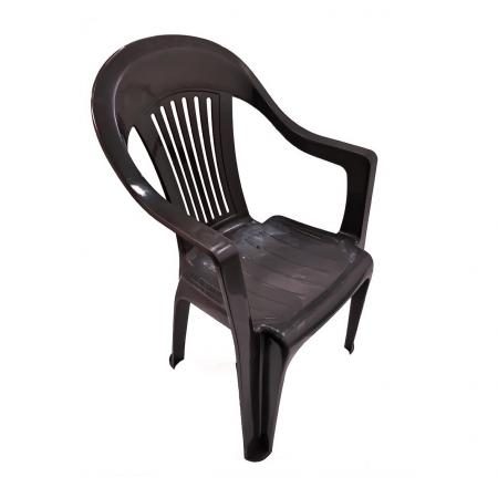 Set masa capucino+ 6 scaune capucino, pentru gradina, din plastic [2]
