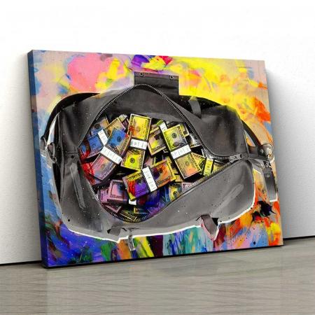 Tablou Canvas - Money Bag0