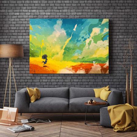 Tablou Canvas - Multicolor Art2