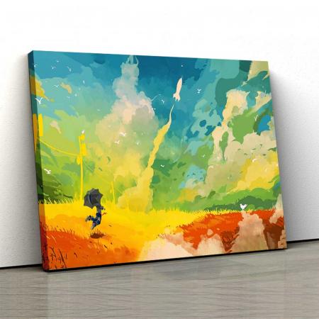 Tablou Canvas - Multicolor Art0