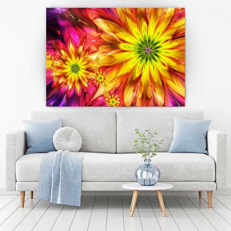 Tablou Canvas - Multicolor Flowers1