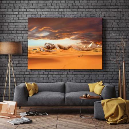 Tablou Canvas - Nefertiti [2]