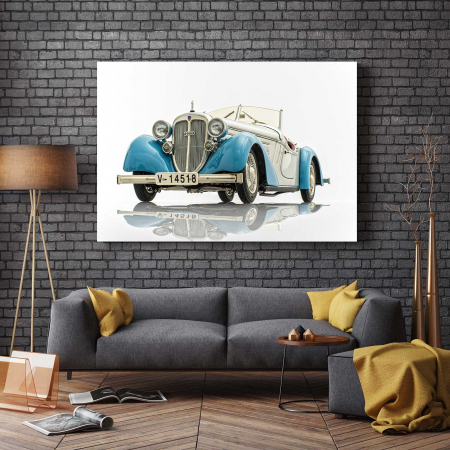 Tablou Canvas - Old Audi2