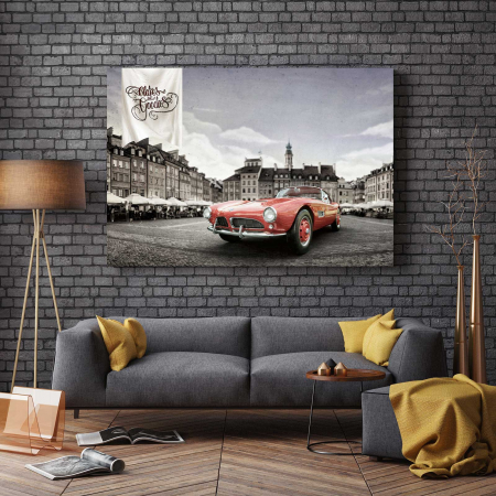 Tablou Canvas - Old Car [2]