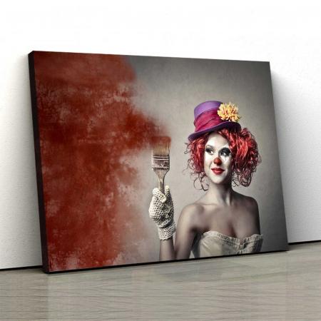 Tablou Canvas - Paint Girl [0]