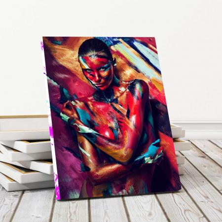 Tablou Canvas - Paint Stripes Sexy [0]